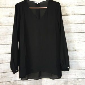 ALFRED SUNG Black Blouse
